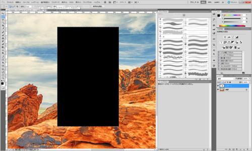 photoshopで枠線を簡単に引く方法_04